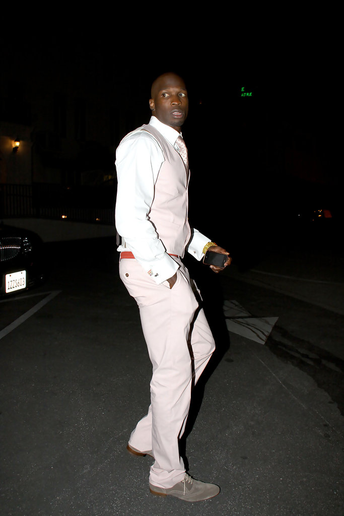 More Pics of Chad Johnson Menu0026#39;s Suit (3 of 5) - Chad Johnson Lookbook - StyleBistro