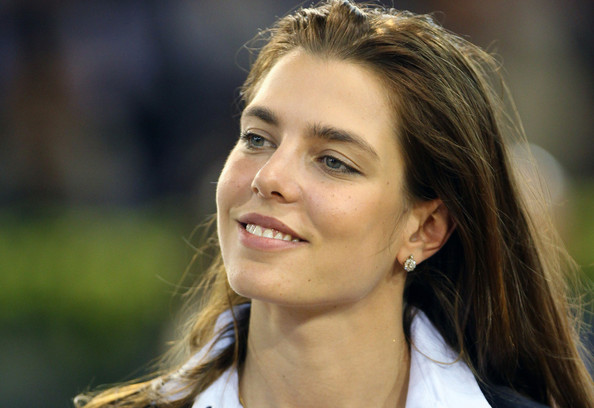 Charlotte Casiraghi Diamond Studs