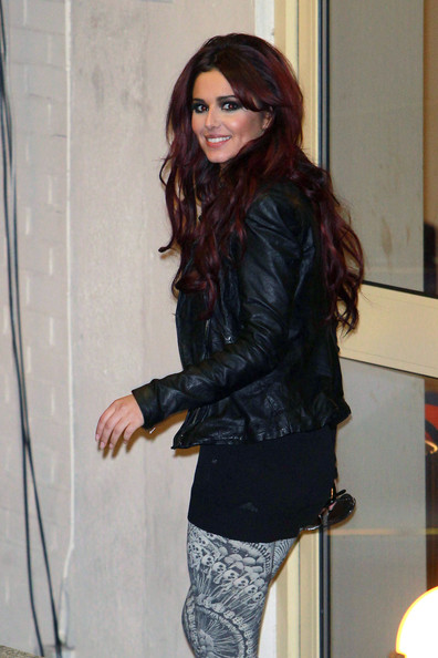 Cheryl Cole Leather Jacket