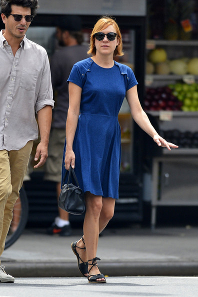 Chloe Sevigny Denim Dress