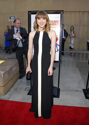 Zoe's dress at the 'Ruby Sparks' premiere is minimalism at its finest.