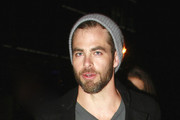 Chris Pine Knit Beanie