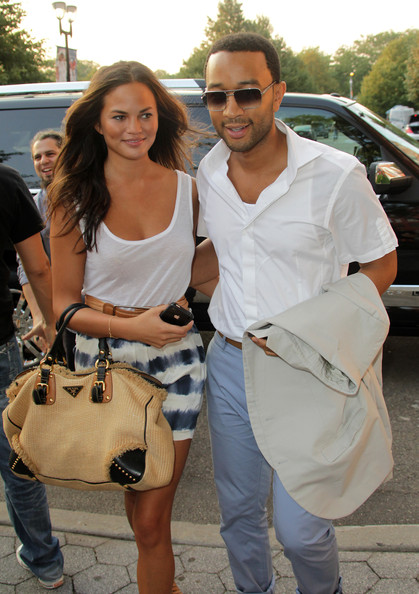 Chrissy Teigen Canvas Tote