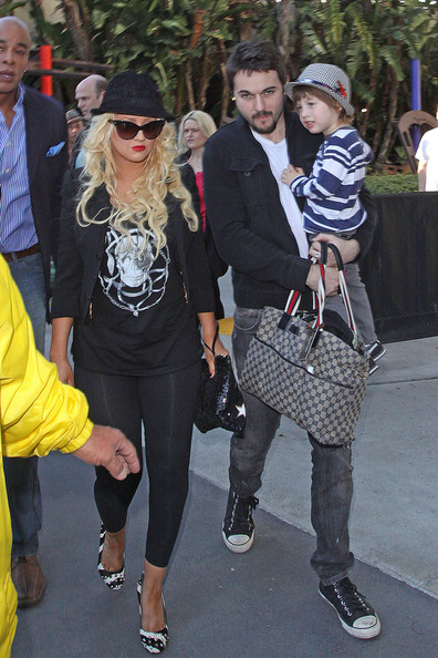 More Pics of Christina Aguilera Embellished Flats (1 of 11) - Christina Aguilera Lookbook - StyleBistro