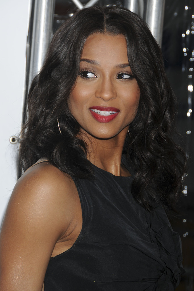 Ciara Medium Curls Ciara Hair Looks Stylebistro