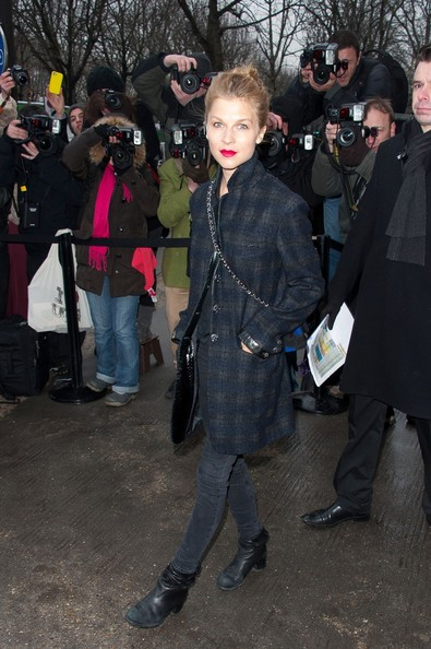 Celebs Out for Fashion Week in Paris 2