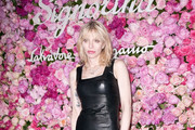 Courtney Love Leather Dress