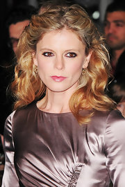 Emilia Fox wore her hair in a half up, half down style with lots of loose waves and curls at the UK premiere of 'The Iron Lady.'