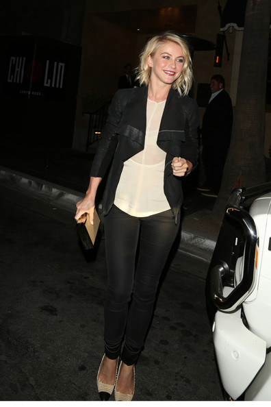 More Pics of Julianne Hough Skinny Pants (1 of 14) - Julianne Hough Lookbook - StyleBistro