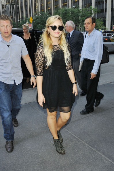 Demi Lovato Ankle Boots []
