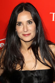 Demi Moore made her lips pop against her LBD at the Time 100 Gala with a sweet berry lip hue.