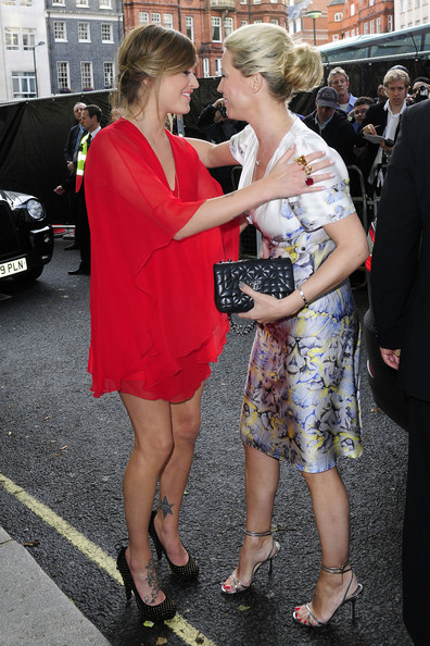 Denise van Outen Quilted Clutch