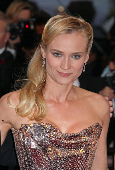 Diane Kruger Half Up Half Down