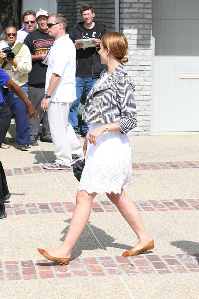 More Pics of Dianna Agron Blazer (1 of 16) - Dianna Agron Lookbook - StyleBistro