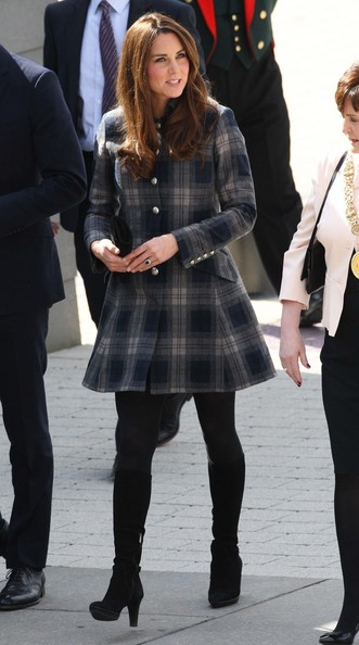 More Pics of Kate Middleton Wool Coat (4 of 13) - Wool Coat Lookbook - StyleBistro