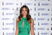 Elizabeth Hurley Halter Dress