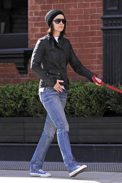 Emily Blunt Basketball Sneakers