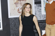 Emma Watson Little Black Dress