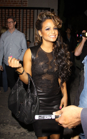 More Pics of Christina Milian Platform Sandals (5 of 5) - Platform Sandals Lookbook - StyleBistro