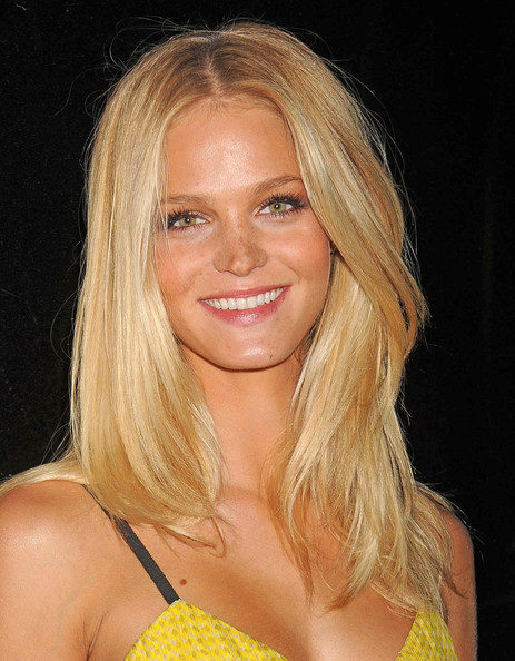 Erin Heatherton Long Straight Cut