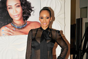 Evelyn Lozada Fitted Blouse