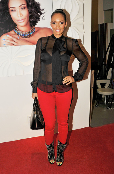 Evelyn Lozada Skinny Pants