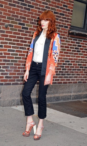 More Pics of Florence Welch Strappy Sandals (1 of 2) - Florence Welch Lookbook - StyleBistro