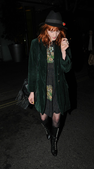 More Pics of Florence Welch Lace Up Boots (1 of 4) - Florence Welch Lookbook - StyleBistro []