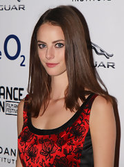 Kaya Scodelario kept her styling simple with this sleek straight cut at the screening of 'Emanuel and the Truth About Fishes.'