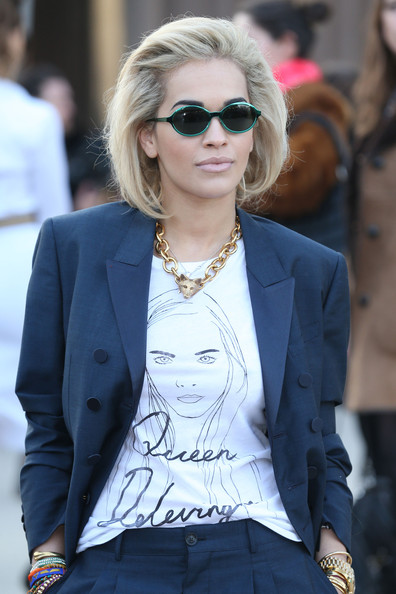 More Pics of Rita Ora T-Shirt (1 of 5) - Tops Lookbook - StyleBistro