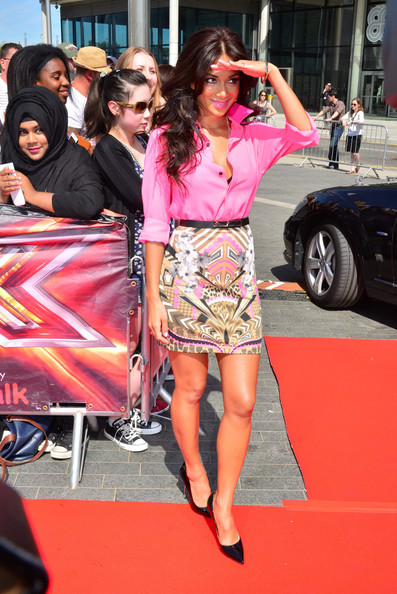 More Pics of Nicole Scherzinger Pink Lipstick (4 of 9) - Pink Lipstick Lookbook - StyleBistro
