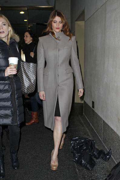 Gemma Arterton Wool Coat