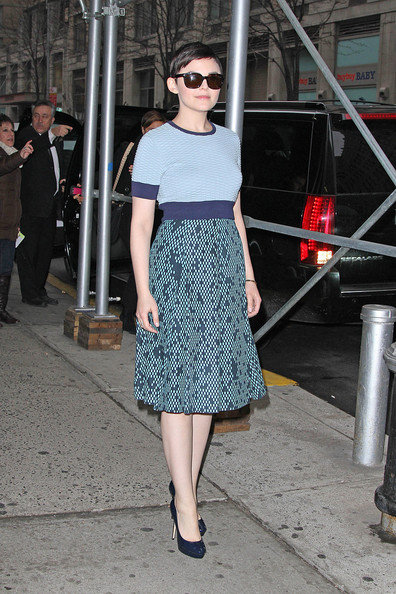 Ginnifer Goodwin Steps Out in NYC