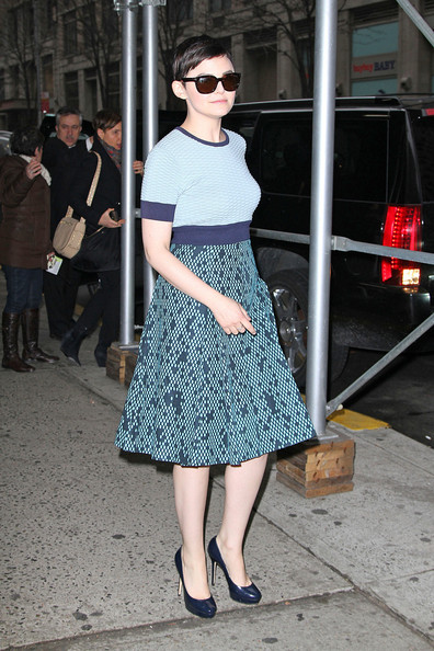 More Pics of Ginnifer Goodwin Day Dress (1 of 15) - Day Dress Lookbook - StyleBistro