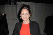 Gloria Estefan Wool Coat