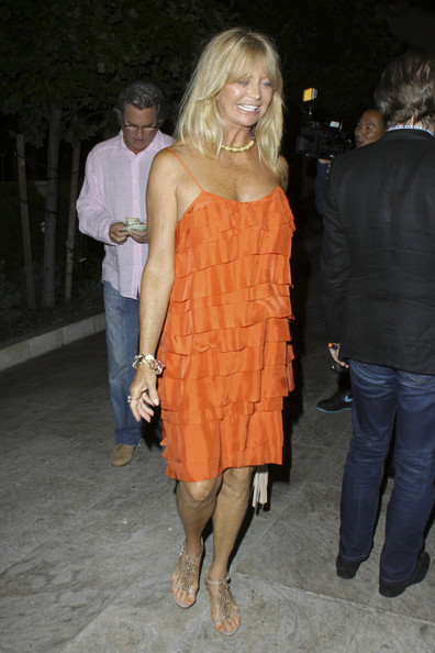 Goldie Hawn Flat Sandals