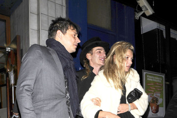 Jamie Hince John Galliano Kate Moss Leaves The Box Nightclub