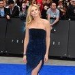 Charlize Theron's Sparkling Midnight Christian Dior Dress