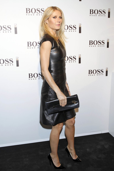Gwyneth Paltrow Leather Clutch