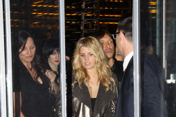 Jessica Simpson Ken Paves Ken Paves and Jessica Simpson Leave BOA Steakhouse