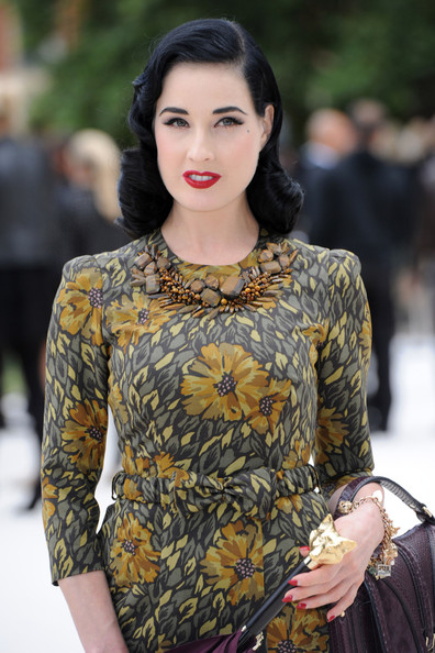 More Pics of Dita Von Teese Cat Eyes (3 of 7) - Cat Eyes Lookbook - StyleBistro