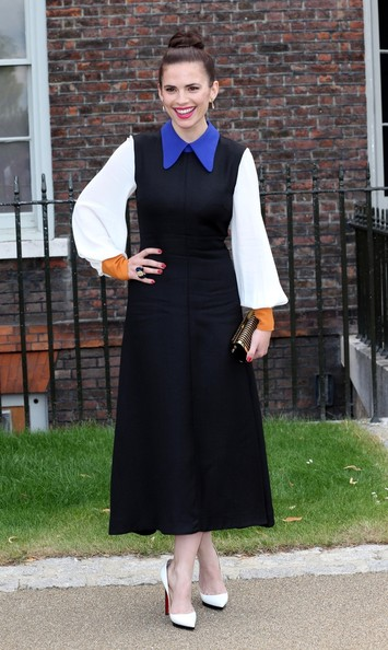 Hayley Atwell Day Dress []