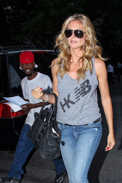 More Pics of Heidi Klum Tank Top (1 of 6) - Tank Top Lookbook - StyleBistro
