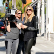 First Look - Heidi Klum Films 'Germany's Next Top Model' in Beverly Hills
