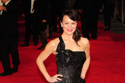 Helen McCrory Mermaid Gown