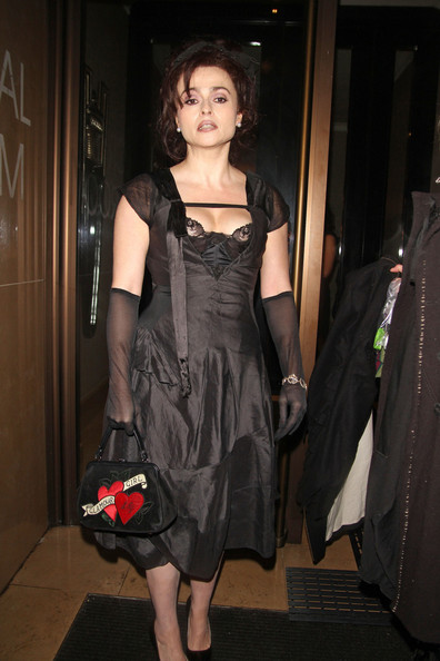 More Pics of Helena Bonham Carter Satin Purse (1 of 10) - Helena Bonham Carter Lookbook - StyleBistro