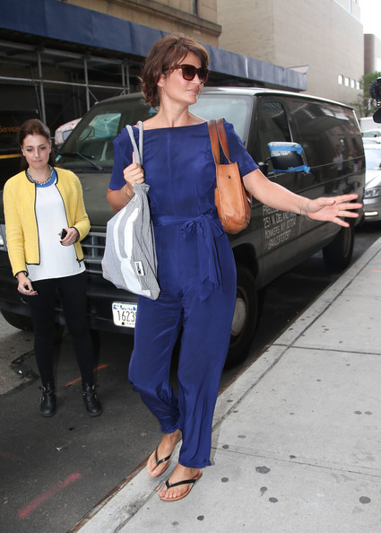 More Pics of Helena Christensen Jumpsuit (1 of 8) - Helena Christensen Lookbook - StyleBistro
