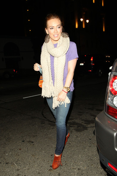 Hilary Duff Ankle Boots []