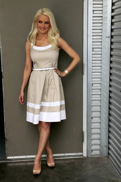 Holly Madison Day Dress