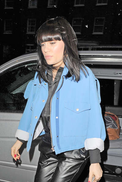 More Pics of Jessie J Fitted Jacket (1 of 5) - Jessie J Lookbook - StyleBistro
